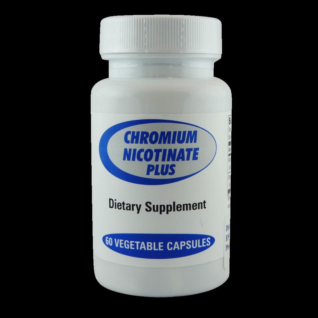 Chromium Nicotinate Plus 60 Caps